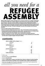 all you need for a refugee assembly