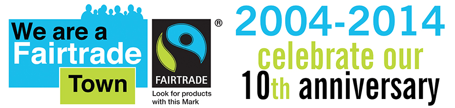 Fairtrade town anniversary